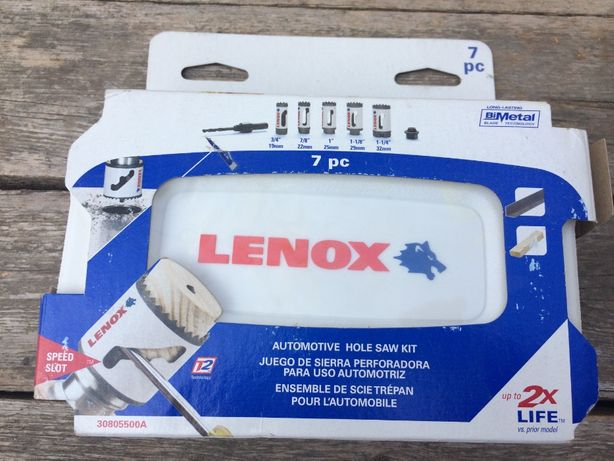 Коронки LENOX Bi-Metal X2 Made in USA DEWALT Irwin Milwaukee Bosch