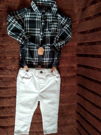 Ubranka dla chłopca r. 86