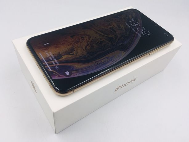 iPhone XS MAX 256GB GOLD • PROMOCJA • GWAR 1 MSC • AppleCentrum