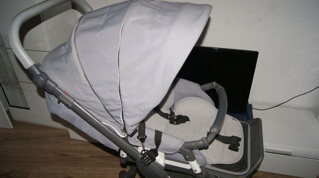 roan bass-wozek spacerowka+ fotelik samochodowy nosidellko