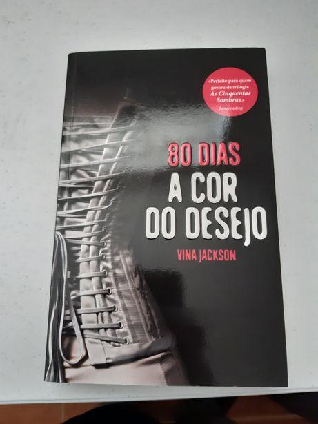 Livro 80 Dias A Cor Do Desejo