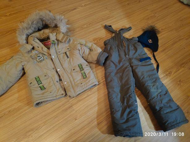 Зимний костюм, комбинезон KIKO 116см.