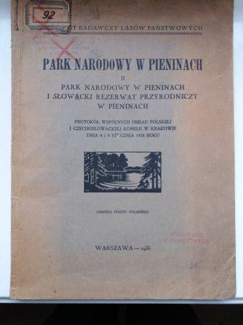 Park Narodowy w Pieninach 1935 r.