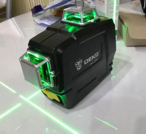 Samopoziomująca poziomica laserowa. Model DKLL12PB1 +Gratis