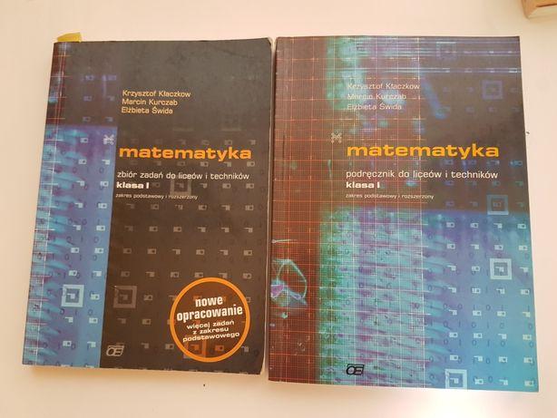 MATEMATYKA podręcznik i zbiór zadań klasa 1