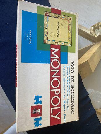 Monopolio jogo de tabuleiro
