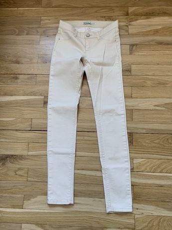 Beżowe spodnie rozmiar 34 XS
