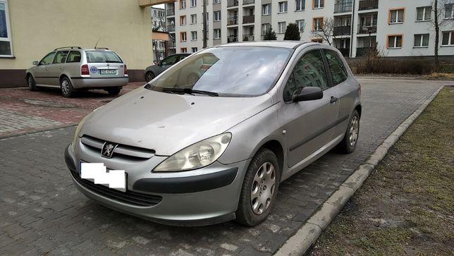 Peugeot 307 1.4 Benzyna. Sprawna Klima, HAK, Przeglad do 2022roku !