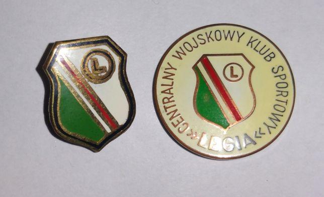 Legia - odznaki klubowe