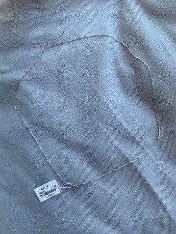 Łańcuszek srebro próba 925 45cm