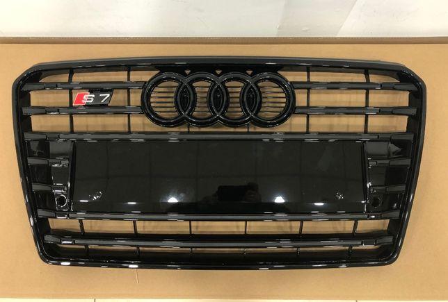 решетка радиатора Audi S7 решотка А7 s7 Решітка s7 2010-2014г ауді с7
