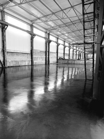 Промислові підлоги. Монолітні перекриття, та різні види бетонних робіт