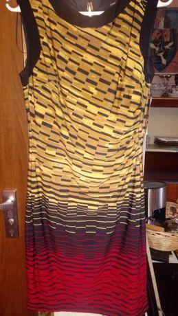 Sukienka R&M Richards wizytowa, bez rękawów z podszewką