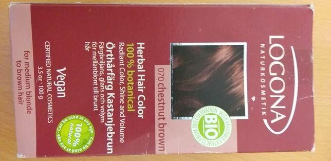 Lagona tinta para cabelo natural cor castanho