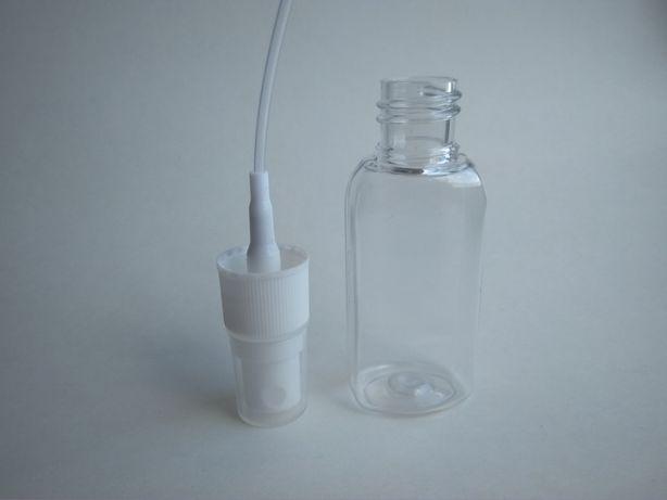 30мл, 50мл пластиковый флакон с распылителем для парфюмерии