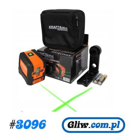 #3096 Laser krzyżowy poziomica laserowa zielony KD10307