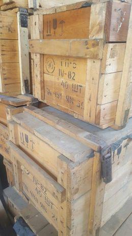 Ящик от противогазов ГП5 СССР деревянный для хранения
