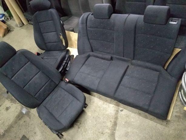 Bmw E36 kanapa fotele individual coupe cabrio wnętrze compakt środek