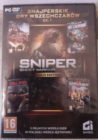 Gra PC Sniper Gold ghost edition 5 gier nowe