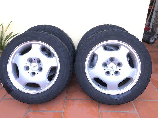 Pneus Dunlop 215/55 R16 + Jantes Mercedes