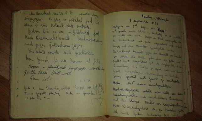 militaria. 1 wrzesien 1939 dziennik. Schleswig . Westerplatte