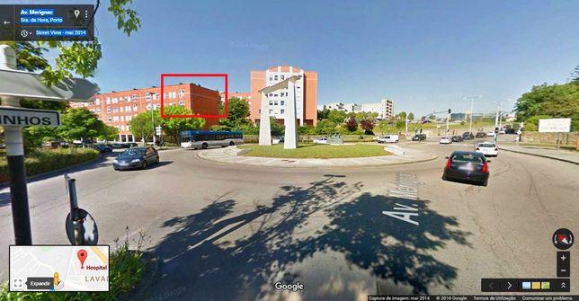T2 ao lado Hospital Pedro Hispano/ 2 Frentes / Elevador