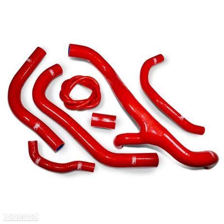 kit tubos radiador samco vermelho honda cbr 600 rr