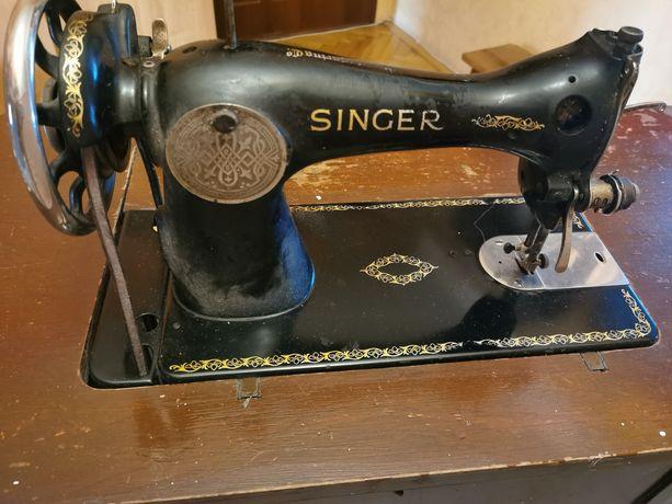 Zabytkowa maszyna Singer