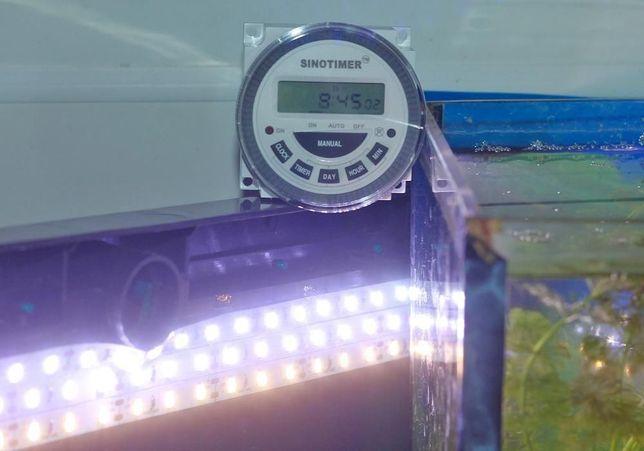 Реле времени (таймер 220В), автоматическое включения насоса/освещения