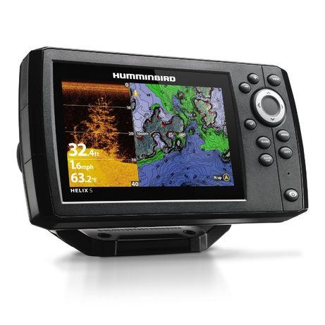 Эхолот Картплотер Humminbird HELIX 5x CHIRP DI GPS G2, Гарантия 1 год