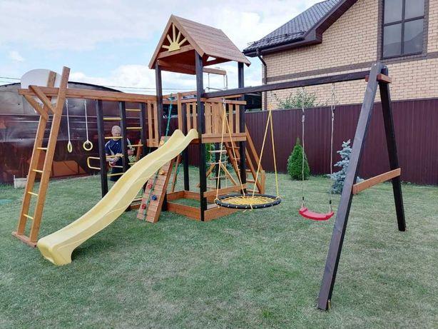 Детская игровая площадка. Детская площадка. Игровой комплекс.