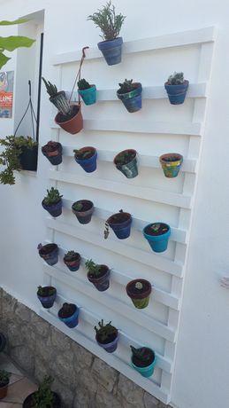 Suporte vertical para plantas/horta urbana