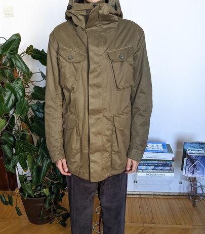 H&M Мужская Парка Размер М ( Утепленная Куртка Хаки )