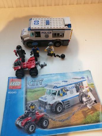 Lego 60043 furgonetka policyjna
