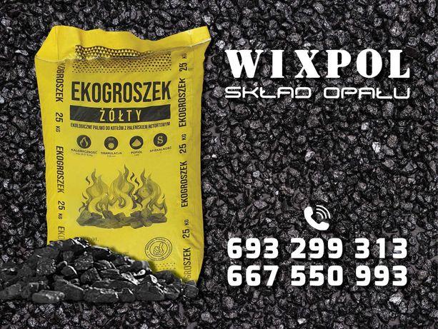 EKOgroszek 840zł, HDS Transport Skład Opału WIXPOL