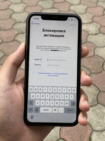 iPhone 11 Black Icloud lock заброкированый в идеальном состоянии 280$