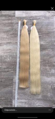 Włosy słowiańskie 50gram 55cm SUPER JAKOŚĆ