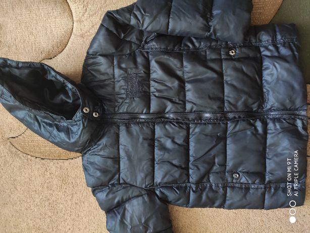 Куртка на мальчика на холофайбере р.125-130