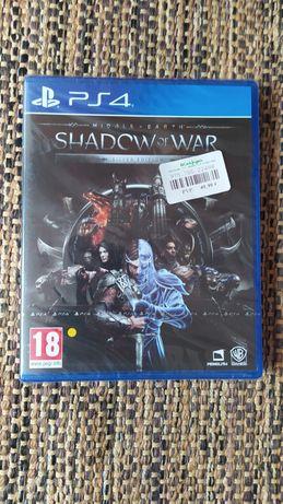 Shadow of war silver edition - ps4 novo!  playstation 4
