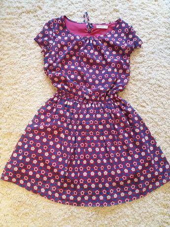 Женское платье с резиночкой на пояске