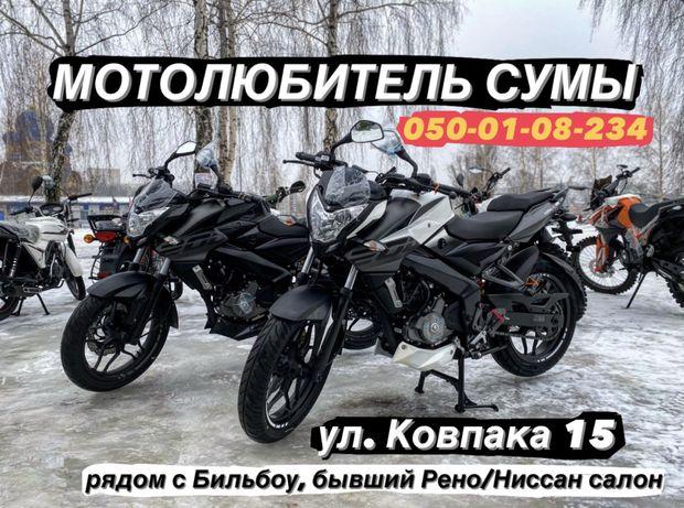 Мотоцикл BAJAJ PULSAR NS 200|2021года|Ktm Duke|Индия|0% Рассрочка|Сумы