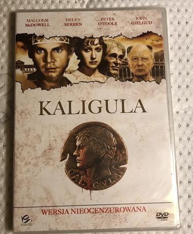 Płyta DVD Kaligula wersja nieocenzurowana