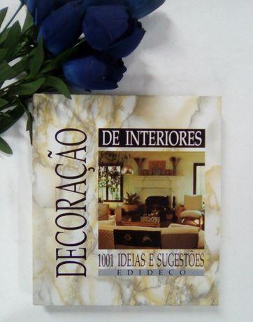 """Livro """"Decoração de Interiores: 1001 Ideias e Sugestões"""" da Edideco"""
