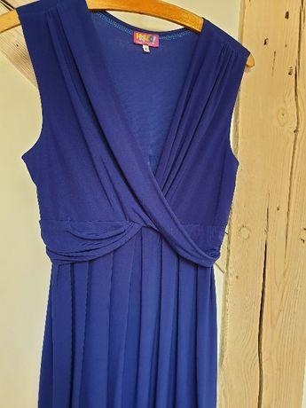 Sukienka ciążowa firmy HALOO, rozmiar L , 40, chabrowa