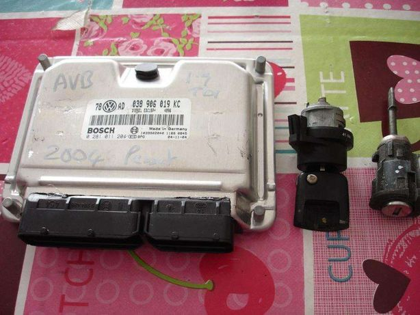 Centralina Vw Passat ou Skoda Superb 1.9 TDI AVB 038_906_019_KC