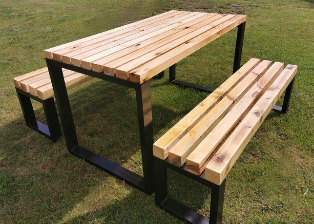 Stół ławki ogrodowe