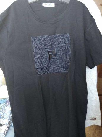 FENDI футболка синяя