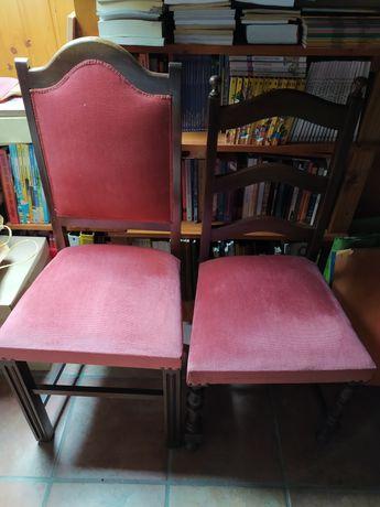 Cadeiras de quarto ou sala