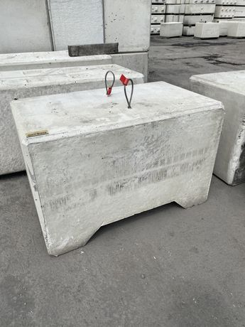 Obciążnik balast tuz 800kg prefabrykowany, obciążnik UDT