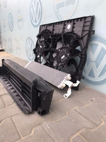 Атлас vw Atlas teramont жалюзи вентиляторы дифузор 3.6 радиатор акпп